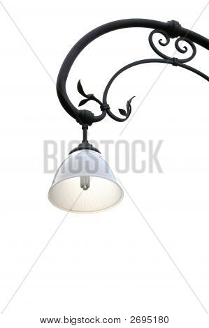 Isolated Street Lamp