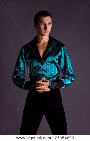 Male Dancer. Portrait