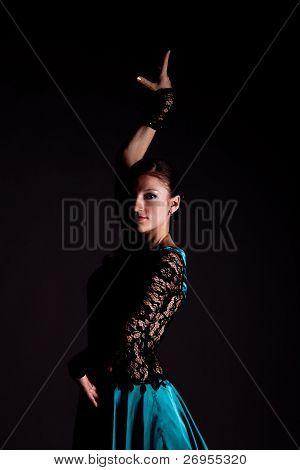 The Woman Dancer. Portrait
