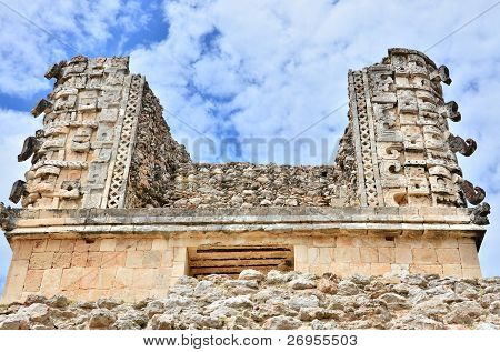 Governor's Palace - Mayan ruins in Uxmal, Mexico
