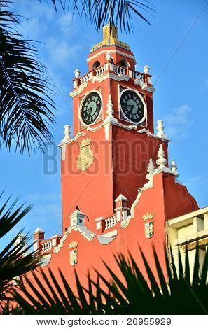 City hall in Merida, Mexico