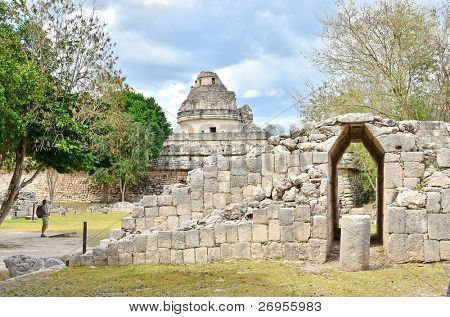 Chichen Itza, Mexico - El Caracol - Observatory