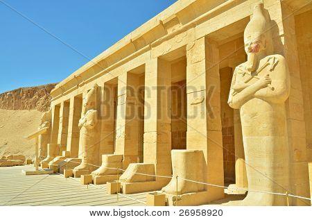 Temple of queen Hatshepsut, Thebes, Egypt