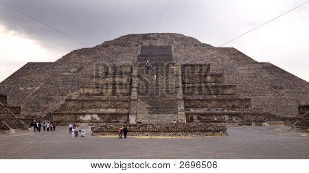 Moon Pyramid Teotihuacan Mexico