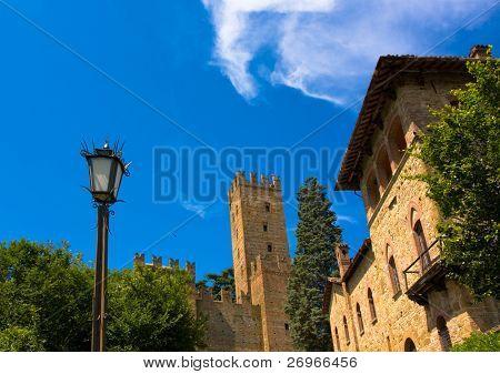 Medieval italian burgh