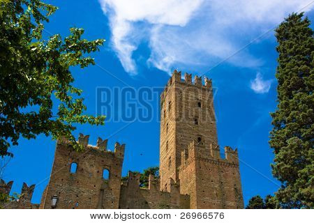 Medieval burgh: Castell'Arquato from Italy