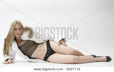 Lingerie Fashion Model