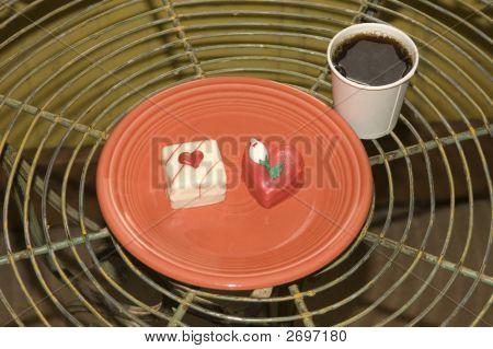 Light Breakfast On Valentines