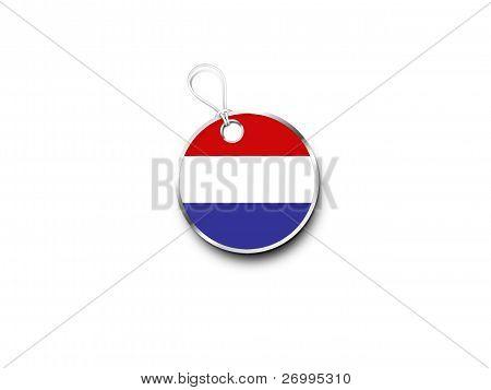 3D Disk For Luxemburg