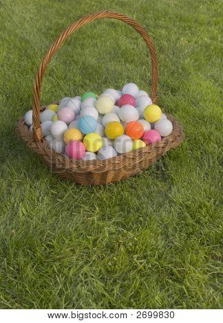 Easter Golf Balls