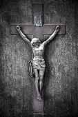Christianity Religion Symbol Jesus Sculpture poster