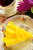 stock photo of saucer magnolia  - Peach tart - JPG