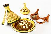 stock photo of tagine  - Mrouzia  - JPG