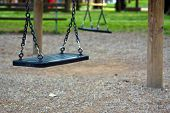 image of pedophilia  - Empty swing - JPG