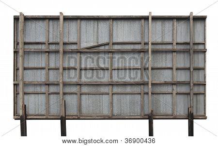 Billboard hoarding