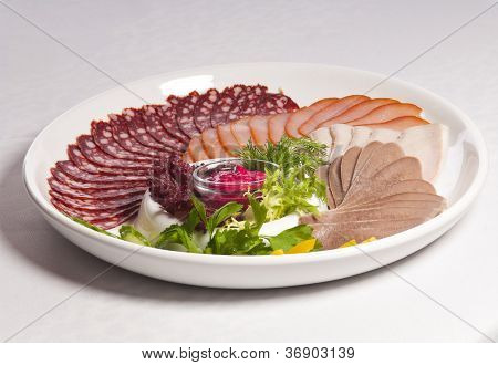 Dish With Meat