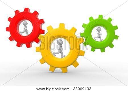 Mecanismo de engranajes