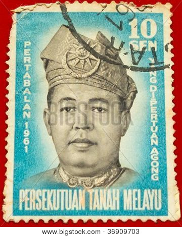 Yang DiPertuan Agung Raja Syed Harrun Putra ibni Syed Hassan Jamalullail ( 3rd King of Malaya )