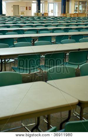 Large Classroom With Tables