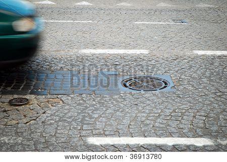 Manhole On The Road