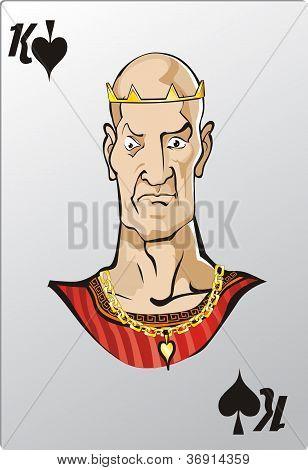 King of spade