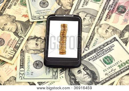 Money And Phone