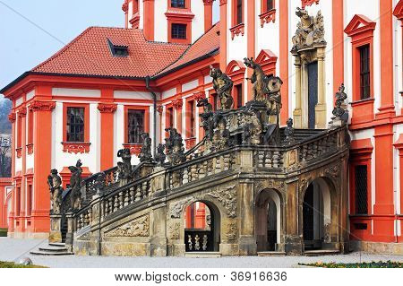 Troja Castle In The Prague