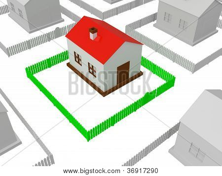 Little House With Red Roof