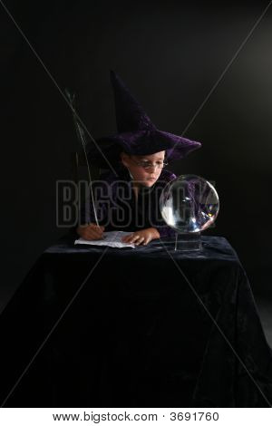 Wizard Child Consulting Crystal Ball