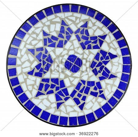 Blue Color Mosaic