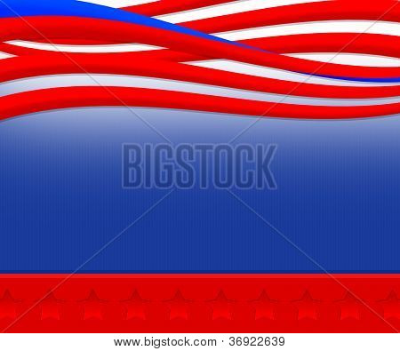 Abstract USA Elections Background