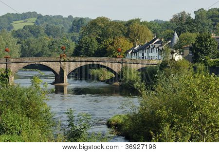 River Usk and Bridge