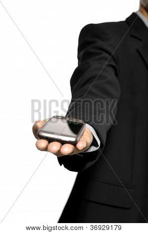 Man Show Cellphone