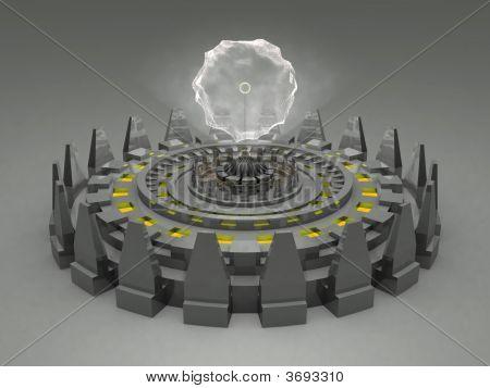 Alien Fantasy Unknown Futuristic Machine