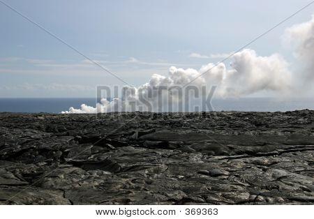 Kilauea Volcano Lava Fields