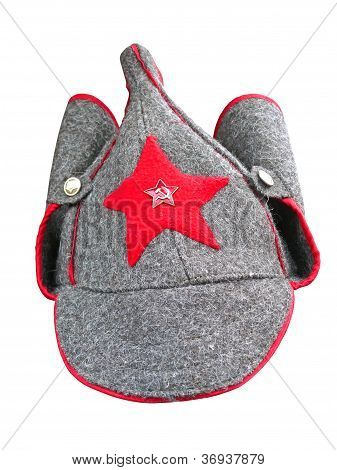Budenny Cap - Pointed Helmet Formerly Worn By Red Army Men