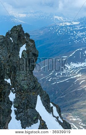 Alp Mountain Rock View