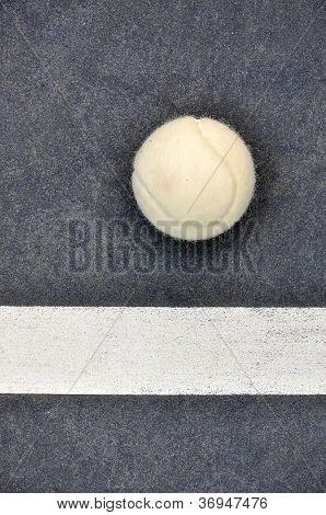 White Tennis Ball