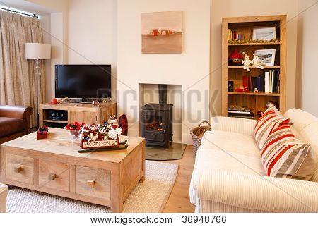 Modern Christmas Interior