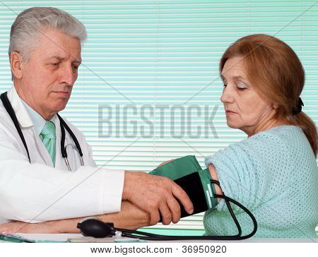 Great doctor and his patient
