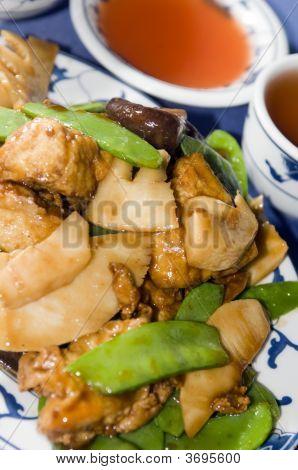 Tofu Tofu im chinesischen restaurant