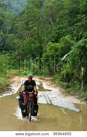 Cycling through Sumatra