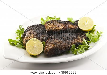 Grilled Tilapia Dish