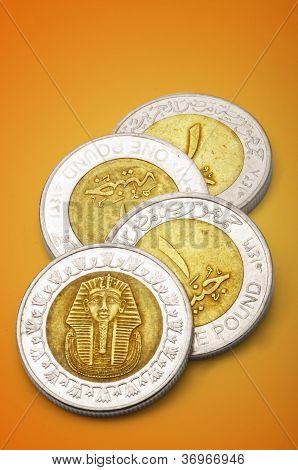 Egyptian One Pound Coins