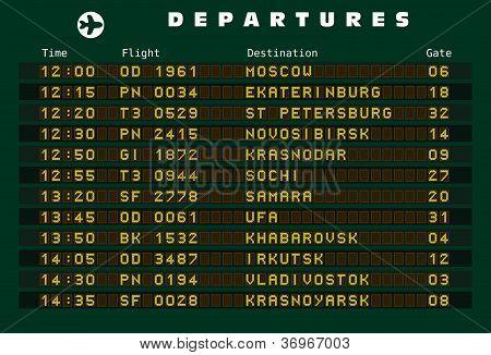 Russia destinations