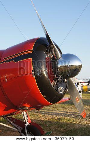 Beechcraft D17-5 Staggerwing plane