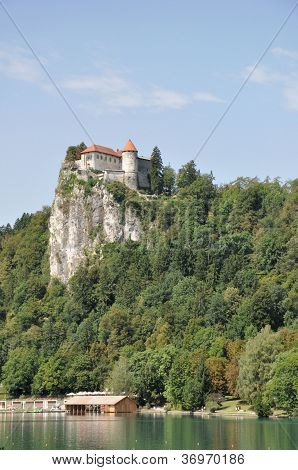 Bled Castle On The Cliff, Slovenia