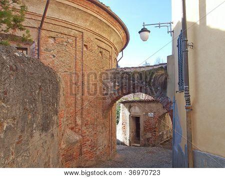 Rivoli old town, Italy