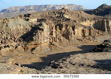 Dry canyon