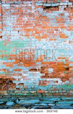 Distressed Brick Wall 2